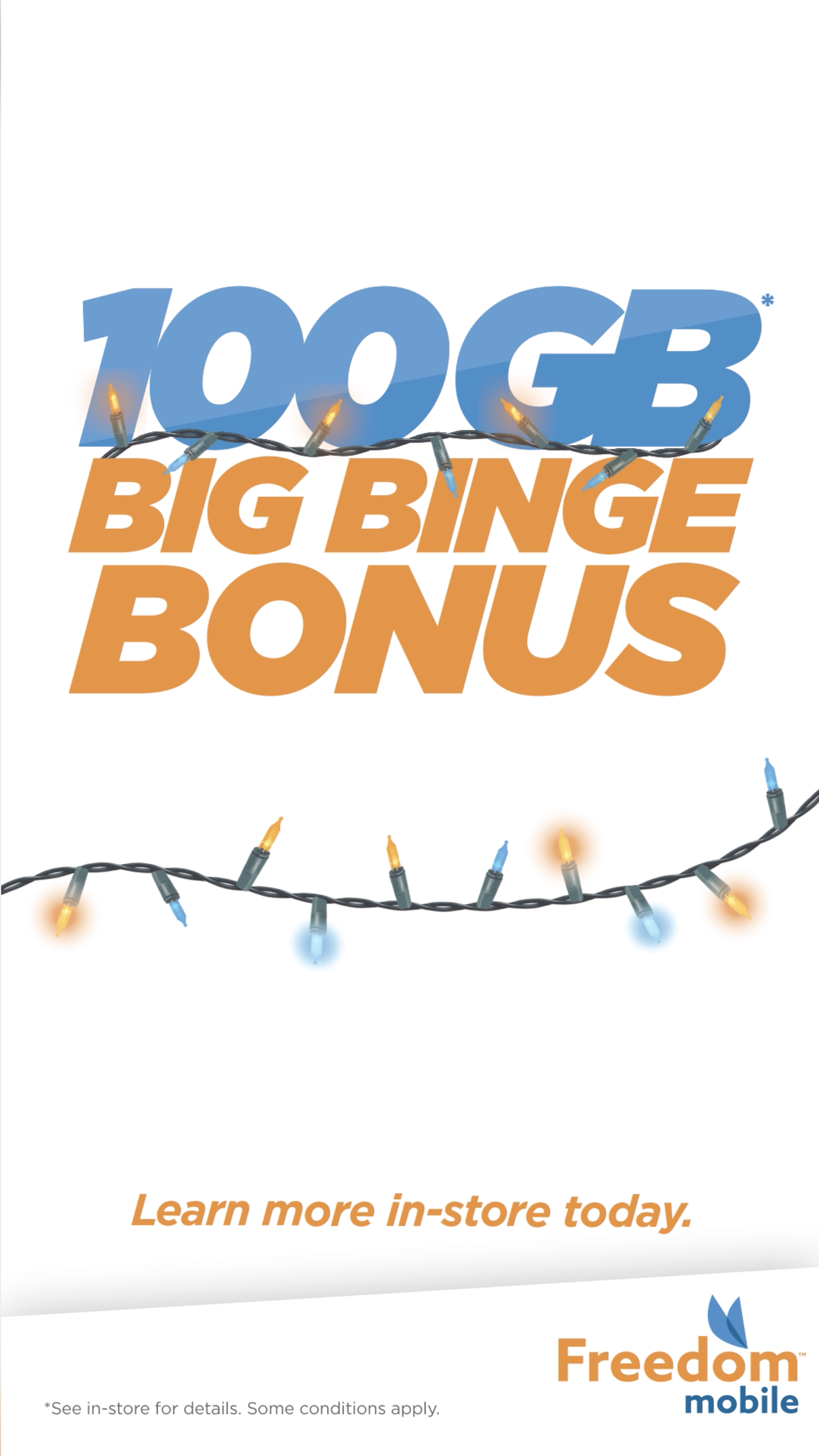 Holiday Big Binge Bonus